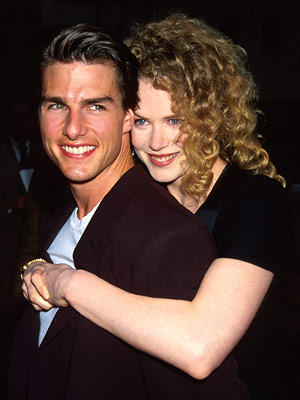 Tom Cruise, Nicole Kidman | CELEBRITY COUPLE Ten months after his breakup with Mimi Rogers in February, Tom Cruise married Nicole Kidman on Christmas Eve. Ho, ho, ho.
