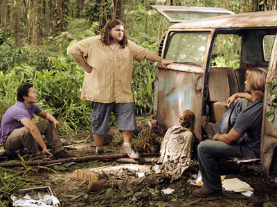 Lost, Daniel Dae Kim, ... | Also when he rode to the rescue in the Dharma van to save Jin, Sayid and Bernard from the Others...—amyf My favorite moment: Hurley?s ''Little…