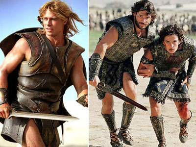 Troy, Eric Bana, ... | Troy (2004) The hunky trifecta of Brad Pitt, Eric Bana, and Orlando Bloom led the charge in this retelling of the siege of Troy. While…
