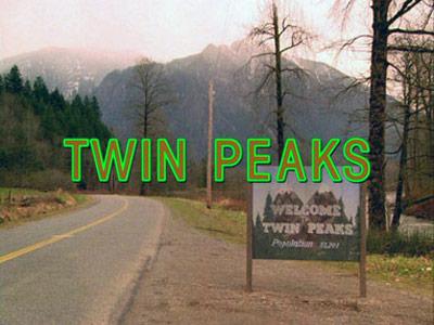 BEST TV FONT Twin Peaks