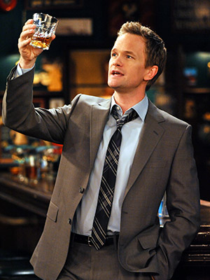 How I Met Your Mother, Neil Patrick Harris | BARNEY STINSON (NEIL PATRICK HARRIS) Most Badass Moment: The revelation that this self-styled badassery guru owns a silk pajama suit (complete with a tie!)