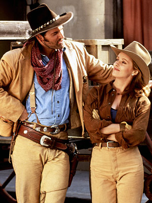 The Adventures of Brisco County Jr. | THE ADVENTURES OF BRISCO COUNTY, JR. PREMIERED August 27, 1993 THE SCOOP Before Lost , producer Carlton Cuse helped create this marvelous tongue-in-cheek Western. It…