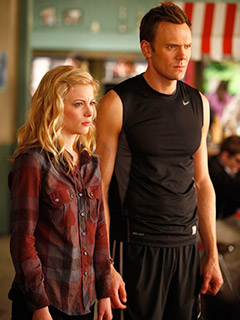 Community, Joel McHale   Jeff and Annie/Britta/Slater, Community The closest race of any category, the Community square beat the Good Wife triangle by just two votes. 2. Alicia and…