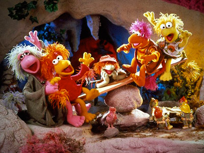 FRAGGLE ROCK The Fraggles laughed, sang, and learned life lessons in a wonderfully bright and fun allegorical world.