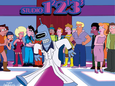 FUTURAMA Good news, everyone! Professor Farnsworth, Fry, Bender Bending Rodríguez, and the whole crew are back from the deep-space regions of cancellation with new episodes…