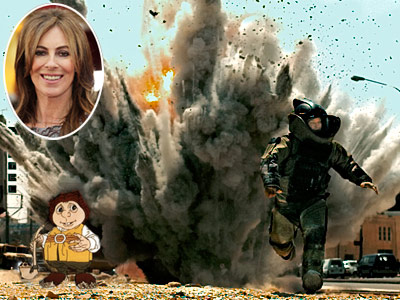 ''Why does it have to be a guy? Why not [KATHRYN] BIGELOW — didn't she just win the Oscar for The Hurt Locker ?'' —…
