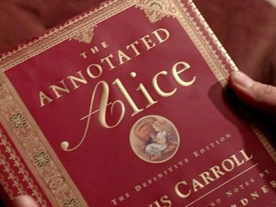 Lewis Carroll's topsy-turvy fantasy world inspired the title of the season 1 episode ''White Rabbit,'' in which Jack encountered the specter of his dead father…