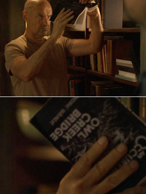 Lost | In the season 2 episode ''The Long Con,'' John Locke searched through The Hatch's bookshelves, hoping to find more insight into the Dharma mystery, and…