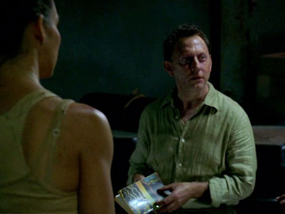 Lost, Michael Emerson | Hardcore fans with a serious geek bent have long theorized a connection between Lost 's seemingly sentient, psychic Island and a signature work of a…