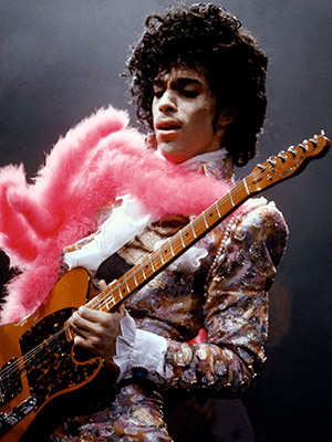 Prince | PRINCE'S ''PURPLE RAIN'' ''This isn't even my favorite Prince tune, but it's impossible not to 'Woo-hoo-hoo-hoo!' along with him as he delivers that sizzling guitar…