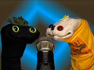 THE SIFL AND OLLY SHOW The singing sock puppets on this low-budget show kept things interesting thanks to their dysfunctional friendship and plethora of fake…