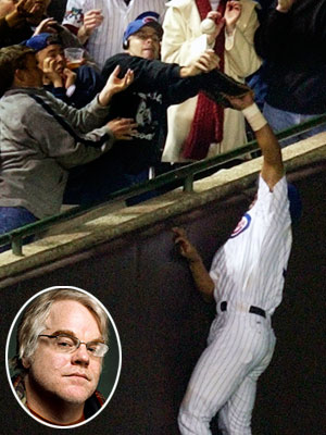 The Mistake: Cubs fan Steve Bartman tried to catch a foul ball...and didn't see that Cubs outfielder Moisés Alou was also trying to catch it.…