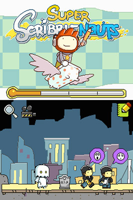 9. SUPER SCRIBBLENAUTS (DS) This sequel to Scribblenauts (last year's hit side-scrolling puzzler) features 10,000 adjectives, allowing gamers to summon practically anything simply by typing…