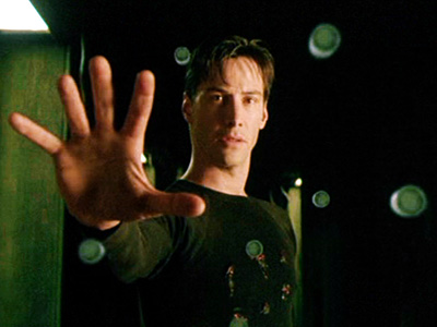 The Matrix, Keanu Reeves | NEO (KEANU REEVES) Most Badass Moment: When Neo defeats his archnemesis (for the first time), he faces down his remaining enemies, and the very substance…