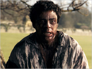 The Wolfman, Benicio Del Toro | THE WOLFMAN Benicio Del Toro goes feral