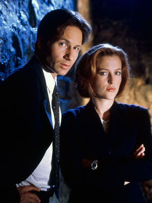 The X-Files, David Duchovny | The believer and the skeptic epitomized opposites attracting, and boy did it work: It fueled their work relationship investigating the paranormal — and fueled our…