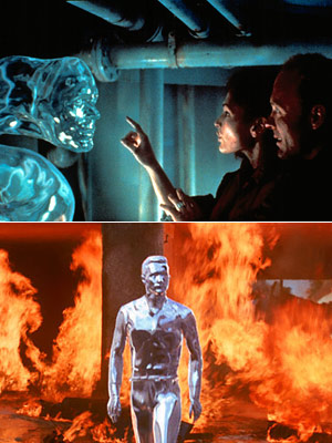 THE ABYSS (1989) and TERMINATOR 2: JUDGMENT DAY (1991) While computers hadn't yet cracked the trick of re-creating realistic organic material — i.e., making stuff…