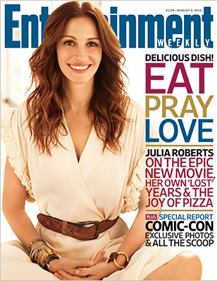 Eat Pray Love, Julia Roberts