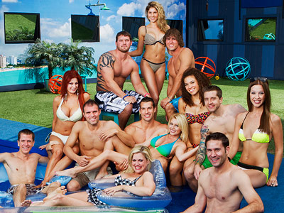 Big Brother | The cast kicked off the new season by taking on each other, as well as a giant rubber hot dog.