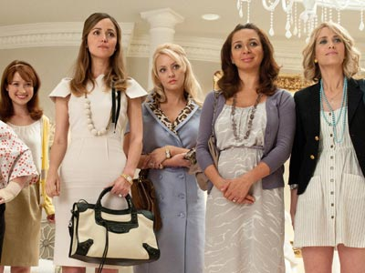 Don't let the title fool you. Bridesmaids (out in 2011) may sound like a typical wedding flick, but it's actually from the comedy dream team…