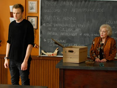 Betty White, Joel McHale, ... | Hollywood's go-to guest star pops up again, this time on the Sept. 23 season premiere of NBC's Community . So who does Betty White play?…