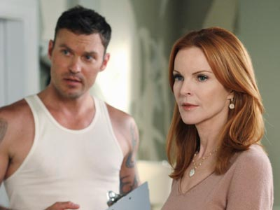 Desperate Housewives, Desperate Housewives, ... | Looking for a fresh start after her split from Orson, Desperate Housewives ' Bree (Marcia Cross) hires a hunky handyman — played by Beverly Hills,…