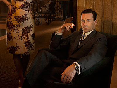 Mad Men, Jon Hamm | JON HAMM as Don Draper on Mad Men Hamm's '60s ad man may have single-handedly revived an interest in the classic two-button suit with a…
