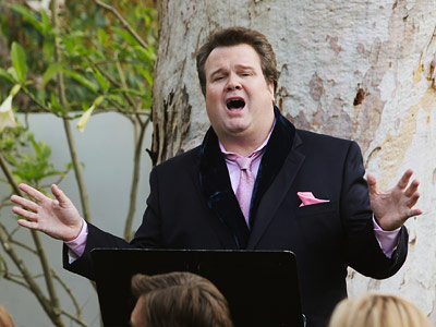 Eric Stonestreet, Modern Family | Outstanding Supporting Actor in a Comedy Expectations were high for ''drama queen'' Cam after he introduced his and Mitchell's adopted daugther, Lily, to the family…