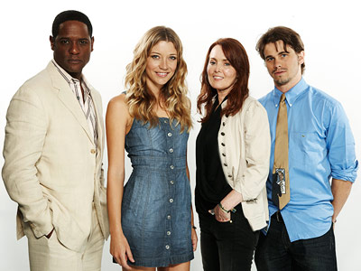 Jason Ritter, Blair Underwood | BLAIR UNDERWOOD, SARAH ROEMER, LAURA INNES, AND JASON RITTER, The Event