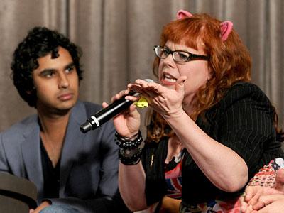 San Diego Comic-Con 2010 | KUNAL NAYYAR, The Big Bang Theory , AND KIRSTEN VANGSNESS, Criminal Minds