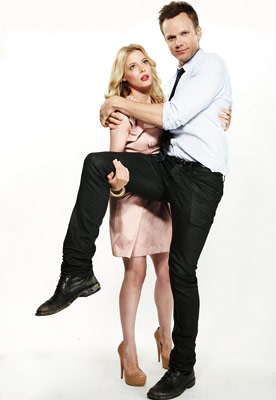 Joel McHale, Community | GILLIAN JACOBS AND JOEL MCHALE, Community