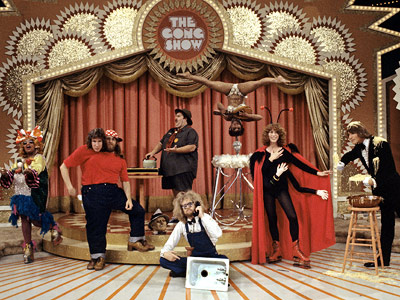 The Gong Show | THE GONG SHOW This Chuck Barris production is like America's Got Talent 's granddad. Contestants, often displaying dubious performance skills, were rated by a panel…