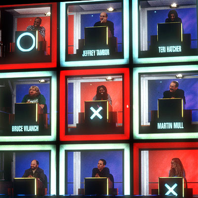 Hollywood Squares (TV Show - 1966), Hollywood Squares (TV Show - 1998) | HOLLYWOOD SQUARES It's human tic-tac-toe! With celebrities! The goal for the two contestants — a male and a female, better known as Mister X and…