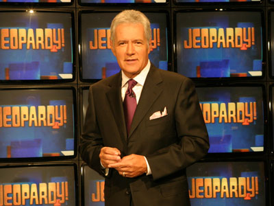Alex Trebek, Jeopardy! | JEOPARDY! Clue: It's the game show that inspired one of the funniest parodies ever on Saturday Night Live . Answer: What is Jeopardy ? Correct!…