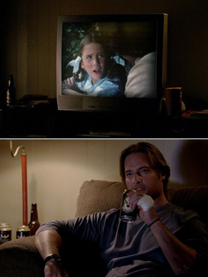 Lost, Josh Holloway | Little House On The Prairie During his melancholy Sideways story in season 6, supercop/undercover vigilante Sawyer showed his softer side by guzzling beer and watching…