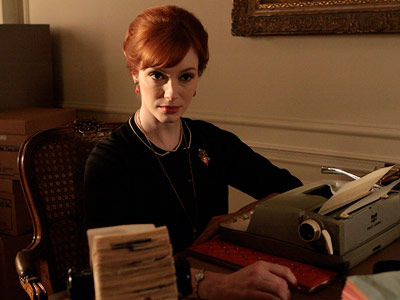 Mad Men, Christina Hendricks | Outstanding Supporting Actress in a Drama When Hendricks pulled on an accordion and murmured ''oh la la la,'' her face registered every ounce of Joan's…