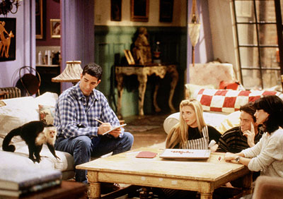 Lisa Kudrow, Matthew Perry, ... | Friends For the first season, Marcel was like the seventh Friend, until Ross got sick of him humping everything in sight he got too fabulous…