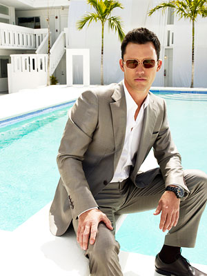 Burn Notice, Jeffrey Donovan | JEFFREY DONOVAN as Michael Westen on Burn Notice Okay, for Michael Westen the shades oftentimes complete the ensemble, but with or without them he floors…