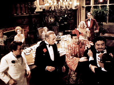 David Niven, Peter Sellers, ... | A group of detectives (including Peter Sellers and Maggie Smith) are invited to dinner party only to learn that it's actually a murder investigation with…
