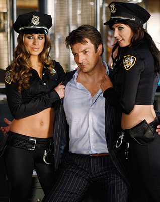 Nathan Fillion, Castle | NATHAN FILLION as Richard Castle on Castle The successful mystery writer has a taste for the finer things. His expensive suits are one of the…