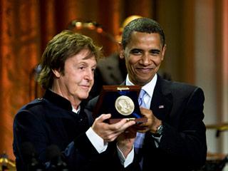 Obama-Paul-Mccarteney