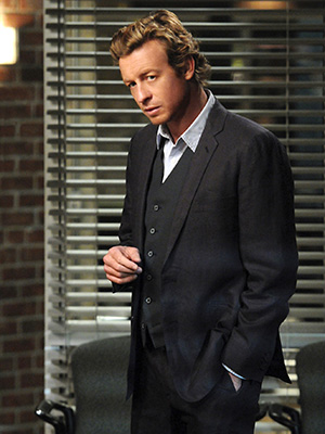 The Mentalist | SIMON BAKER as Patrick Jane on The Mentalist It doesn't take Jane's keen observational skills to see he is always one well-dressed man. — AW