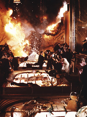 The Poseidon Adventure | The first of the 1970s disaster movies, it won an Oscar for its re-creation of an ocean liner flipped upside down by a tsunami and…
