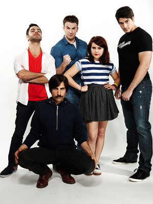 Chris Evans, Brandon Routh, ... | SATYA BHABHA, JASON SCHWARTZMAN, CHRIS EVANS, MAE WHITMAN, AND BRANDON ROUTH, Scott Pilgrim vs. the World