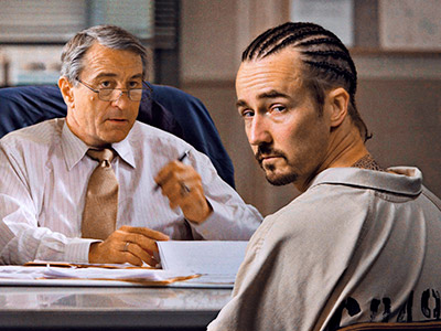 Edward Norton | Teaming up for the first time since 2001's The Score , Method men Robert De Niro and Edward Norton star in Stone , a psychological…