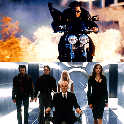 2000 had a jam-packed summer box office with Mission: Impossible II and X-Men (pictured), Nutty Professor II , Gone in 60 Seconds , Space Cowboys…