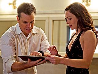 Emily Blunt, Matt Damon | UNSEEN FORCES Matt Damon and Emily Blunt in The Adjustment Bureau