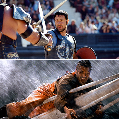If they weren't already enormous box office draws, 2000's Gladiator and The Perfect Storm sealed the deal for Russell Crowe and George Clooney. Paging Dr.…