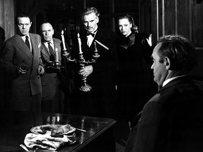 Legendary French director Réné Clair helmed the first Hollywood adaptation of Agatha Christie's Ten Little Indians , in which the guests at a dinner party…