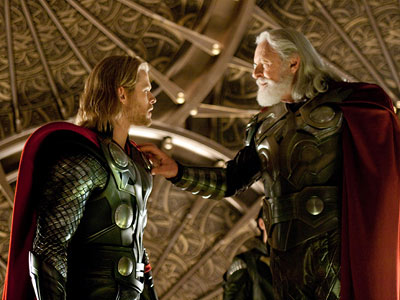 Anthony Hopkins | Starring Chris Hemsworth, Natalie Portman Directed by Kenneth Branagh Chris Hemsworth ( Star Trek ) plays the Marvel hero from Asgard, a brash Viking-like prince…